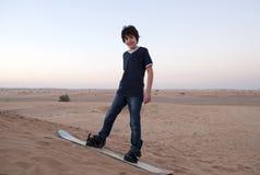 Sandboarding Стоковое Изображение RF