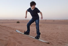 Sandboarding Стоковое фото RF