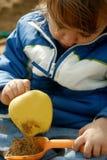 sandbox παιδικών χαρών διασκέδα&sigma Στοκ φωτογραφίες με δικαίωμα ελεύθερης χρήσης
