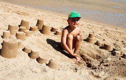 The  sandbox Royalty Free Stock Images
