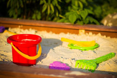 Sandbox Royalty Free Stock Photo