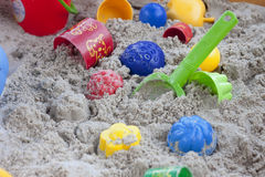 Sandbox for Children Royalty Free Stock Images