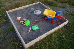 Sandbox Royalty Free Stock Photo