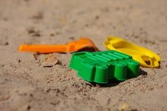 In the sandbox. Royalty Free Stock Photo