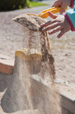 Sandbox game Stock Image