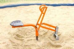 Sandbox shovel ride Stock Photos