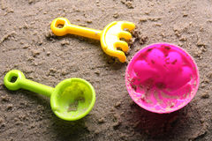Sandbox toys Stock Image