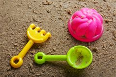 Sandbox toys Royalty Free Stock Image