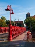 Sandbrücke in Breslau Lizenzfreies Stockfoto