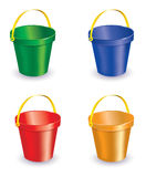 Sandbucket Royalty Free Stock Photos