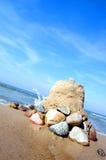 Sandbuilding Fotografía de archivo libre de regalías