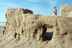 Sandbuilding Imagen de archivo libre de regalías