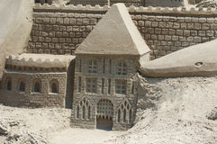Sandcastle. Photo of Sandcastle Royalty Free Stock Photos