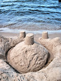 Sandcastle. Stock Images