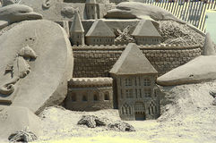 Sandcastle 2 Royalty Free Stock Image