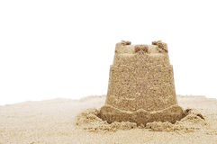 Sandcastle Royalty Free Stock Image