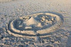 Sandcastle Royalty Free Stock Photo
