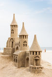 Sandcastle imagens de stock royalty free