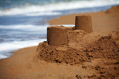 Sandcastle Royalty Free Stock Photo