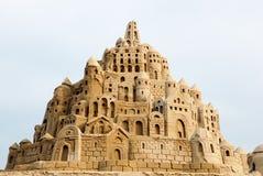 Sandcastle obrazy royalty free