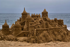 Sandcastle Stockfoto