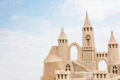 sandcastle fotografia de stock royalty free