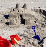 sandcastle images stock