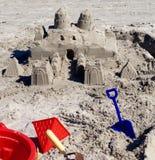 sandcastle Obrazy Stock