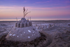 sandcastle Photographie stock