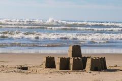 sandcastle стоковая фотография