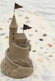 sandcastle Foto de Stock Royalty Free