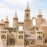 sandcastle fotografia de stock