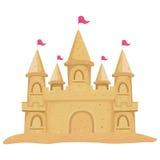 sandcastle иллюстрация вектора