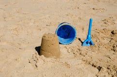 sandcastle Zdjęcia Royalty Free