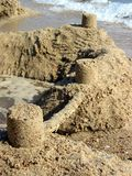 Sandcastle stockbilder