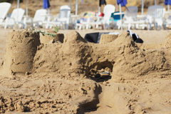 sandcastle Photos stock