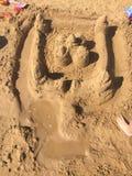 sandcastle Royaltyfri Foto