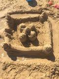 sandcastle Royaltyfri Fotografi
