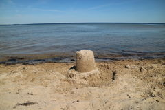 sandcastle Immagine Stock