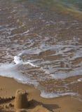 Sandcastle foto de stock