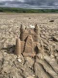 sandcastle στοκ εικόνα