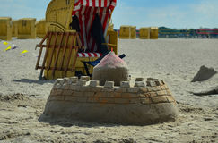 Sandcastle Royalty Free Stock Photography