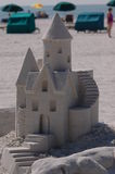 Sandcastle competition 1 Royalty Free Stock Photography