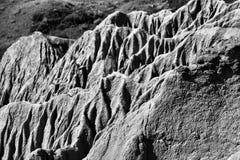 Sandcastle jezioro Diefenbaker obrazy royalty free