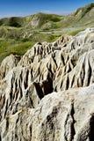 Sandcastle jezioro Diefenbaker obraz royalty free