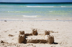 Sandcastle - Philippines Stock Images