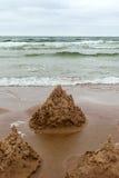 Sandcastle. Stock Image