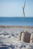 Sandcastle on a sunny day.GN Royalty Free Stock Photo