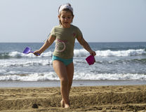 Sandcastles Stock Image