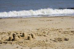 Sandcastles Royalty Free Stock Photos